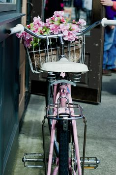 Bikes and Flowers...the perfect combination!