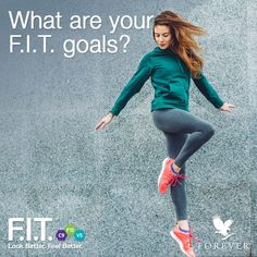 Let's get FIT in 2018! What are your goals? #Foreverliving #Foreverfit #fitgoals #fitspiration