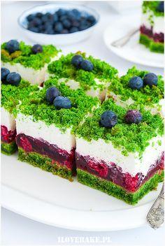 Ciasteczka śmietankowe - I Love Bake Baking Recipes, Cookie Recipes, Dessert Recipes, Spinach Cake, Delicious Desserts, Yummy Food, Polish Recipes, Food Cakes, Yummy Cakes