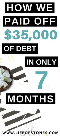 How to get out of debt fast and live debt-free! If you're in debt here are some tips to get out of debt and start living financially free! financial freedom | financial peace | personal finance | money tips