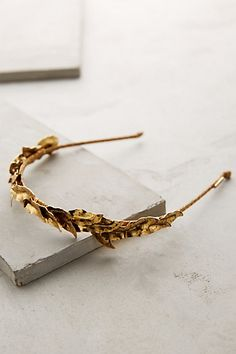 Gilded Eos Headband #amthrofave  @grace738  this reminds me of you!
