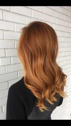 Red Balayage, Copper Red, Long Hair Styles, My Style, Beauty, Long Hairstyle, Long Haircuts, Long Hair Cuts, Beauty Illustration