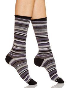 Hue Stripe Jeans Socks