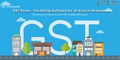 Specially Designed according to GST Format and Indian Market - GST Score. #GST #GSTBilling #GSTsoftware #GSTBillingsoftware #software #ITCompany #informationTechnology #IT