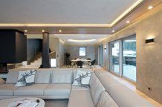 Luxusní interiér plný kontrastů