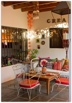 Bohemian décor I plan to create in my terrace!