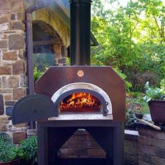 Wood oven for back yard.. I want one