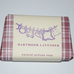 Naturally made Lavender Soap #gifts #devon #handmade #soap