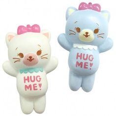Domiel Hug Me! Kitty Squishy  (◕ᴥ◕) Kawaii Panda - Making Life Cute