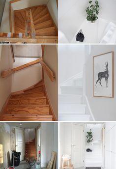 Millainen muutos saadaan aikaan portaat maalaamalla? Katso ennen-jälkeen kuvat hurjasta muutoksesta, joka toi valoa pimeään portaikkoon.