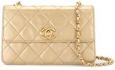 1997 Small Diamond Quilted Chain Crossbody Bag Chain Crossbody Bag, Diamond Quilt, Chanel, Shoulder Bag, Classic, Bags, Fashion, Derby, Handbags