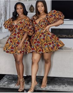 Ankara styles 2020 are one of the most gorgeous African dresses. Get latest Ankara styles and attire trending now which you can even use for Asoebi. African Dresses Online, Short African Dresses, African Print Dresses, African Blouses, African Prints, African Fabric, Short Dresses, African Fashion Ankara, Latest African Fashion Dresses