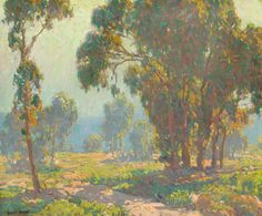 """Morning Light,"" Edgar Payne, oil on canvas, 20 x 24"", George Stern Fine Arts."