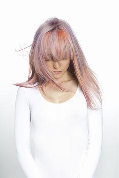 Fudge - Paintbox Creative Colour Collection #fudge #haircolor #colorhair #hairdye #окрашивание #цветныеволосы #креатив #creative Hair: Fudge Professional Creative Team Photography: Elliot Morgan