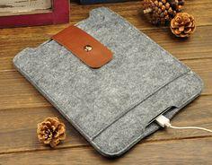 iPad felt sleeve