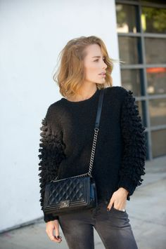 Black on black with Anine #aninebing
