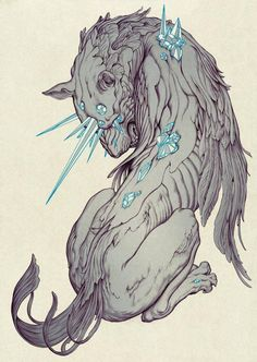 James Jean - 'Chimera' ink and digital. Absolutely beautiful...