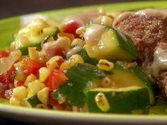 Corn Saute Recipe by Melissa d'Arabian Food Network
