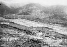 Kokoda village and airfield in July 1942
