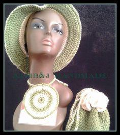 Fedora Hat Set  Crochet Hat Set  Crochet Women Fedora  Men Crochet Fedora  Crochet Jewelry Crochet Handbag Crochet Earrings  Crochet Hat