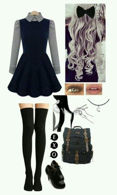 Comfy Outfits for School: Best for Cute and Stylish Look - Wewer Fashion Mode Outfits, Casual Outfits, Girl Outfits, Fashion Outfits, Pastel Goth Outfits, Lazy Outfits, Fashion Mode, Teen Fashion, Womens Fashion