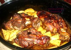 Lemon Butter Chicken, Chicken Thighs, Tandoori Chicken, I Foods, Steak, Curry, Pork, Food And Drink, Beef