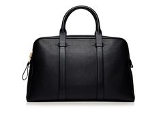 Buckley Leather Flat Trapeze Briefcase | Shop Tom Ford Online Store