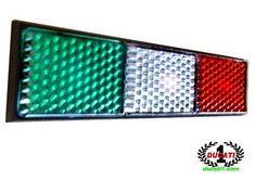 Tricolore rear reflector for Ducati, from Ducati 1