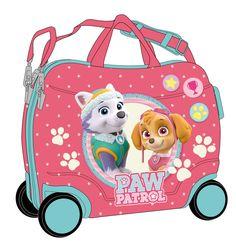 Maleta modelo Girl Patrulla Canina corre pasillos Paw patrol , una súper maleta en la que te podrás subir encima para qu et elleve a todos tus viajes