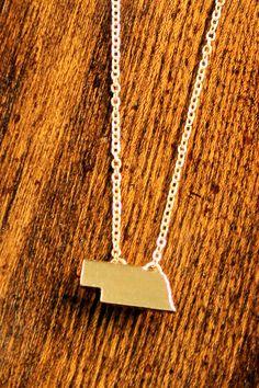 509 Broadway - Nebraska Necklace, $22.00 (http://stores.509broadway.com/nebraska-necklace/)
