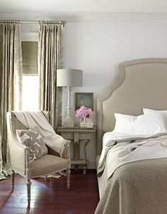 Beautiful serene bedroom! Love it!