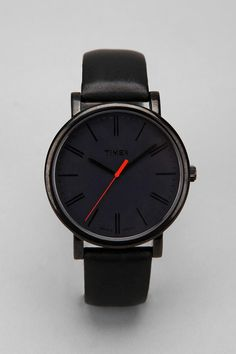 Black on Black: Timex Easy Reader Limited Watch #UrbanOutfitters