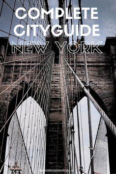 New York city trip: view the best tips for New York Guide New York, New York Travel Guide, New York City Travel, Travel Tips, New York Trip, New York Vacation, New York Washington, New York Neighborhoods, New York Street Style