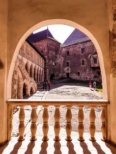The Charming Corvin Castle – romania – Chique Romania Gothic Castle, Hammered Dulcimer, Medieval Music, Romania, Castles, Taj Mahal, Collection, Chateaus, Castle