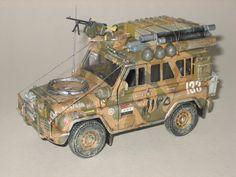УАЗ армии Ирака — Каропка.ру — стендовые модели, военная миниатюра