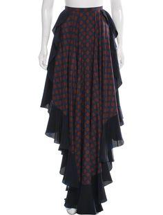 Lanvin Silk Maxi Skirt - Clothing - LAN79241 | The RealReal