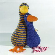 Challenge & Fun Lana Goose Organic Stuffed Animal in Blue  $36.27