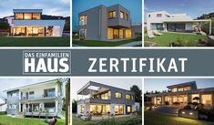 Die «Häuser des Jahres» 2018. Style At Home, Mansions, House Styles, Home Decor, Corner Windows, Wood Facade, Ground Floor, Modern Architecture, Detached House