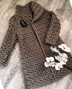Crochet Coat, Crochet Shirt, Crochet Jacket, Knitted Poncho, Crochet Cardigan, Knitted Baby Clothes, Crochet Clothes, Hand Knit Scarf, Crochet Fashion