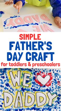 Simple Father's Day Craft for Kids