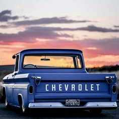Sweet Chevy truck!