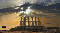 The Temple of Poseidon in Sounio