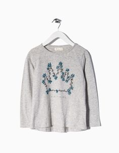 ZIPPY Girl Stamped Long Sleeve T-Shirt #5627122 #zyspring16 Find it here!