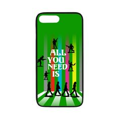 All You Need Is Rubber Case for iPhone 7 plus All You Need Is Love, Peace And Love, Iphone 7 Cases, Iphone 7 Plus, Soldier Silhouette, Laptop Covers, Toy Soldiers, Music Songs, Album Covers