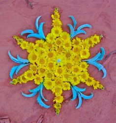 FLOWER MANDALAS ART PIECES | K. KLEIN