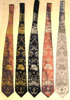 Amazing pirate tattoo ties - £12!