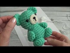 Crochet Your Own Mini Bear Part 3 Legs and Arms Sharon Ojala, Crochet Animals, Crochet Projects, Dinosaur Stuffed Animal, Crochet Necklace, Projects To Try, Arms, Make It Yourself, Teddy Bears