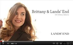 Lands End Plus Size Campaign with Brittany Gibbons