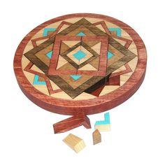 Wooden Mandala   Actually, I want this!