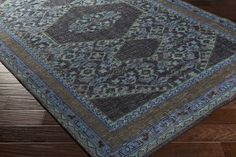 Zahra Area Rug | Gray Classic Rugs Hand Knotted | Style ZHA4033